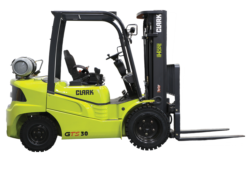 New, 2020, CLARK, GTS30L, Forklifts / Lift Trucks