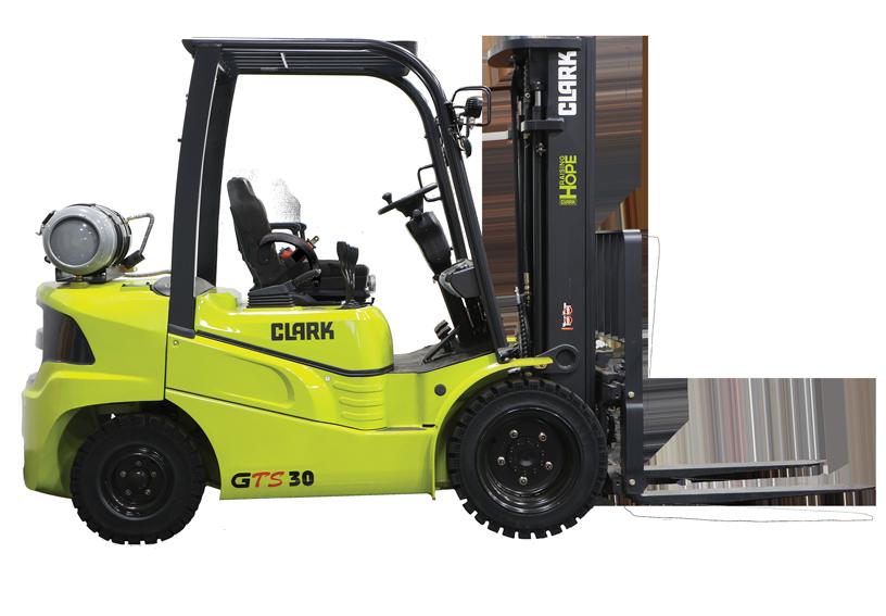 New, 2020, CLARK, GTS30L, Forklifts / Lift Trucks