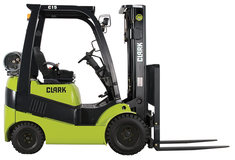 Used, 2018, CLARK, C18L, Forklifts / Lift Trucks
