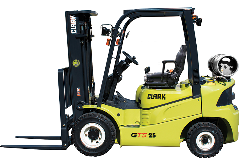 New, 2019, CLARK, GTS 25L, Forklifts / Lift Trucks